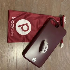 Wine Loopy Case iPhone 7/8 Plus